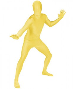 Yellow Adult Morphsuit