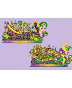 5' Mardi Gras Float Props Wall Add-Ons