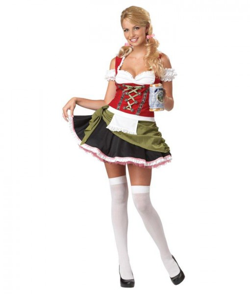 Bavarian Bar Maiden Adult Plus Costume