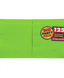 Kiwi Big Party Pack - Beverage Napkins (125 count)