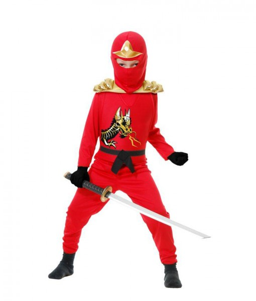 Red Ninja Avengers Series II Child Costume