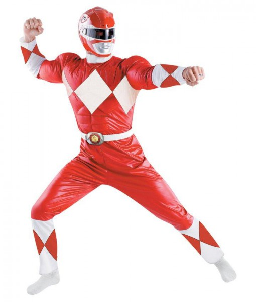 Power Rangers - Red Ranger Classic Adult Costume