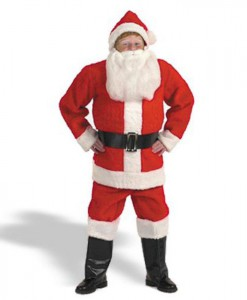Child Santa Suit Costume