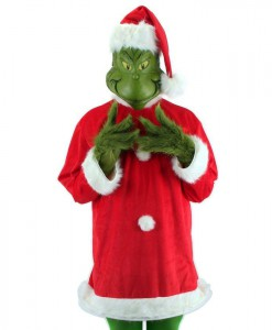 The Grinch Deluxe Adult Plus Costume