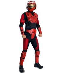 Halo - Red Spartan Deluxe Adult Costume