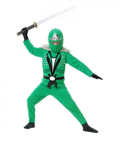 Green Ninja Avengers Series II Child Costume