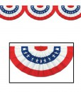 Jointed Patriotic Bunting Cutout Paper