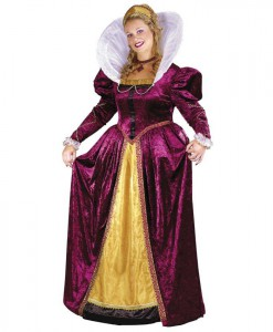 Elizabethan Queen Adult Plus Costume