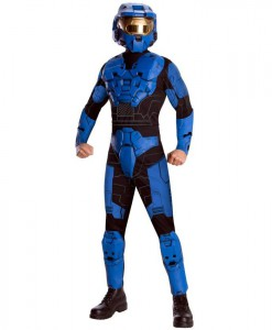 Halo - Blue Spartan Deluxe Adult Costume