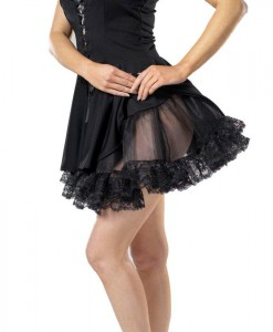 Lace Petticoat (Black) Adult