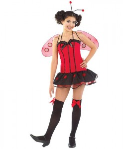 Little Miss Ladybug Child Costume