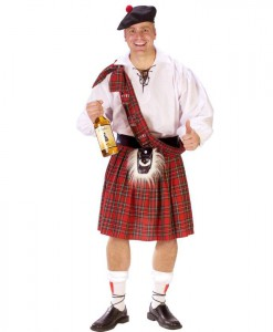 Big Shot Scot Adult Costume