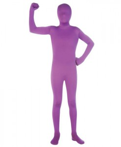 Purple Skin Suit Child Costume