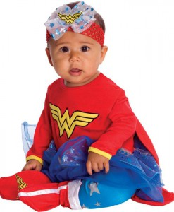Wonder Woman Onesie Infant Costume
