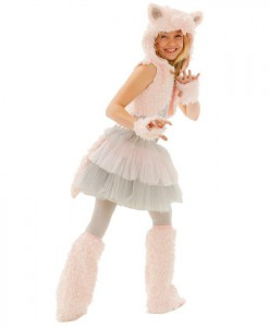 Grace Kitty Tween Costume