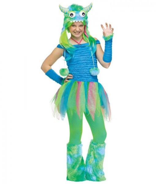 Blue Beasty Teen Costume