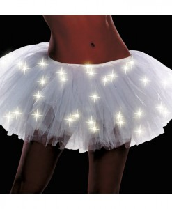 Light Up White Adult Tutu