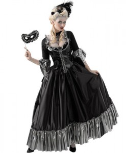 Masquerade Ball Queen Teen Costume