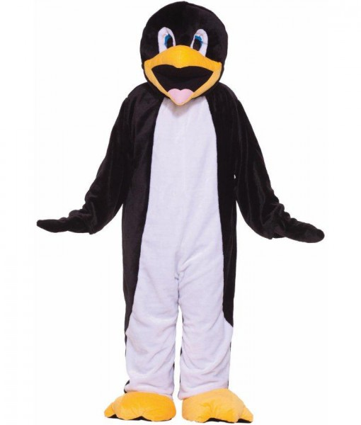 Penguin Plush Economy Mascot Adult Costume