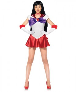 Sailor Moon Sailor Mars Deluxe Adult Costume