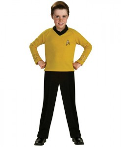 Star Trek Classic Gold Child Costume