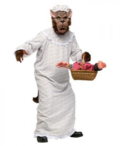 Big Bad Granny Wolf Adult Costume