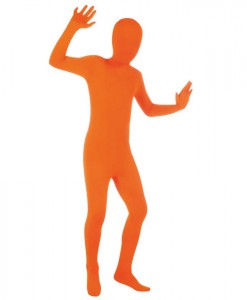 Orange Skin Suit Child Costume