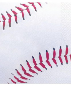 Baseball Fan - Beverage Napkins (16 count)