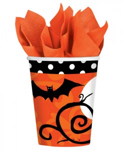 Frightfully Fancy Halloween 9 oz. Paper Cups