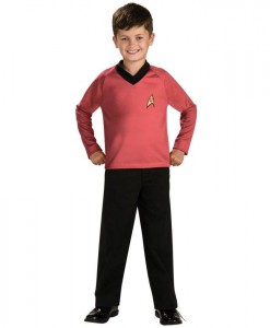 Star Trek Classic Red Child Costume