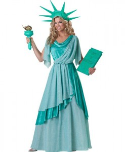 Lady Liberty Elite Collection Adult Costume