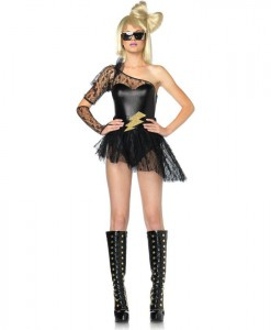 Lightning Rocker Adult Costume