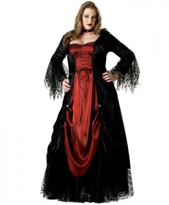 Gothic Vampira Elite Collection Adult Plus Costume