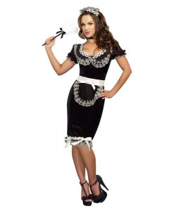 Keep It Clean Sexy Plus Size Maid Dress