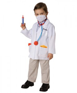 Doctor Child Costume Kit