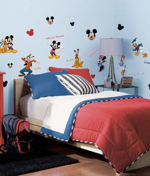 Disney Mickey and Friends Removable Wall Decorations