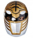 Power Rangers White Ranger Vacuform Adult Mask