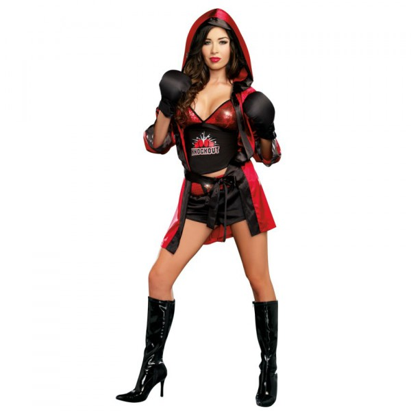 Sexy boxing costumes