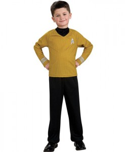 Star Trek Movie (Gold) Shirt Child Costume
