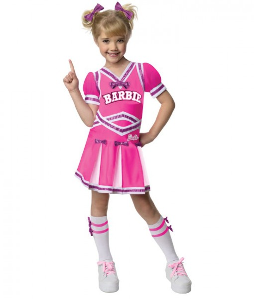 Barbie - Cheerleader Toddler / Child Costume