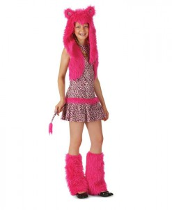 Pink Leopard Child Costume