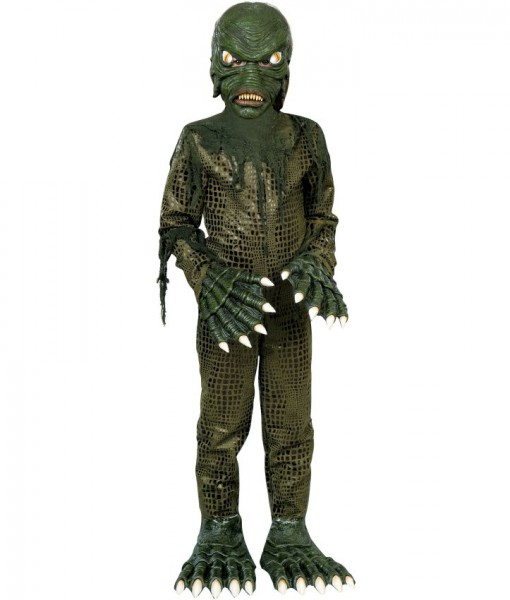 Swamp Monster Child Costume