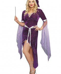 Women's Plus Size Sorcery & Seduction Costume