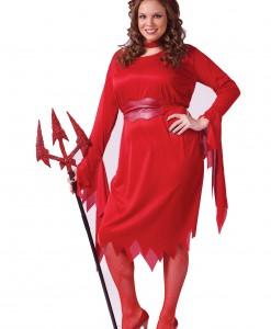 Plus Size Sexy Devil Costume