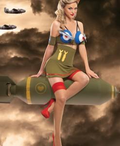 Bomber Girl Costume