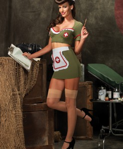 Army Nurse Adult Costume