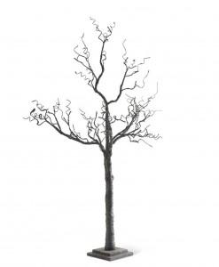70 Black Tree w/ Glitter & 72 LED Lights
