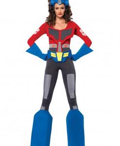 Womens Transformers Optimus Prime Costume