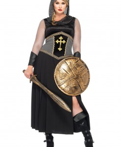 Plus Size Joan of Arc Costume