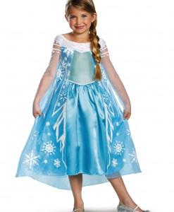 Elsa Deluxe Frozen Costume
